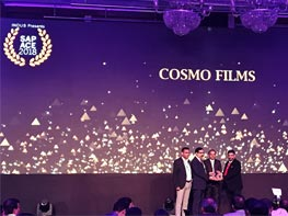 Cosmo Films: Winner at SAP ACE award 2018!